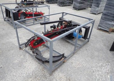 Skid Steer Trencher Attachment
